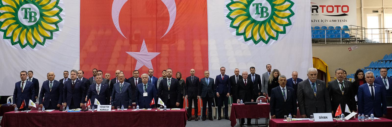 Birliğimiz 2018/2019 İş Yılı Olağan Genel Kurul Toplantısı Edirne Mimar Sinan Kapalı Spor Salonunda Yapıldı.Genel Kurulu Yapıldı