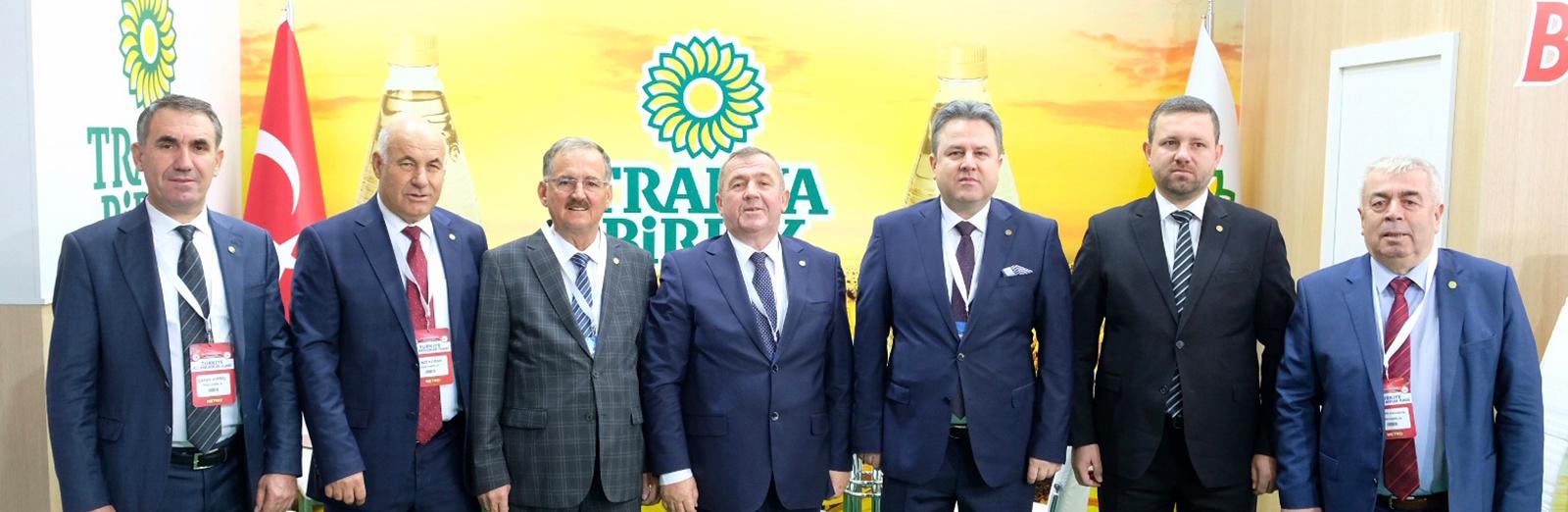 Türkiye Kooperatifler Fuarı'na Katıldık