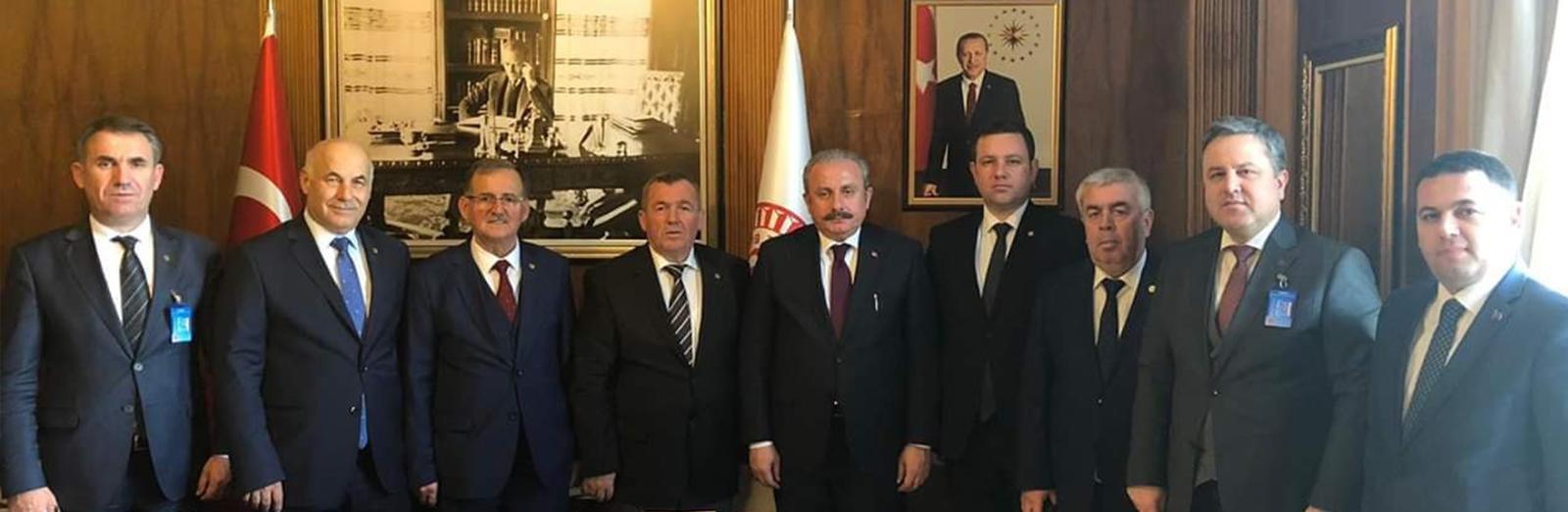 Yönetim Kurulumuz Ankara'da Çeşitli Temaslarda Bulundu